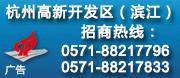 杭州高新区(滨江区)政府招商专栏